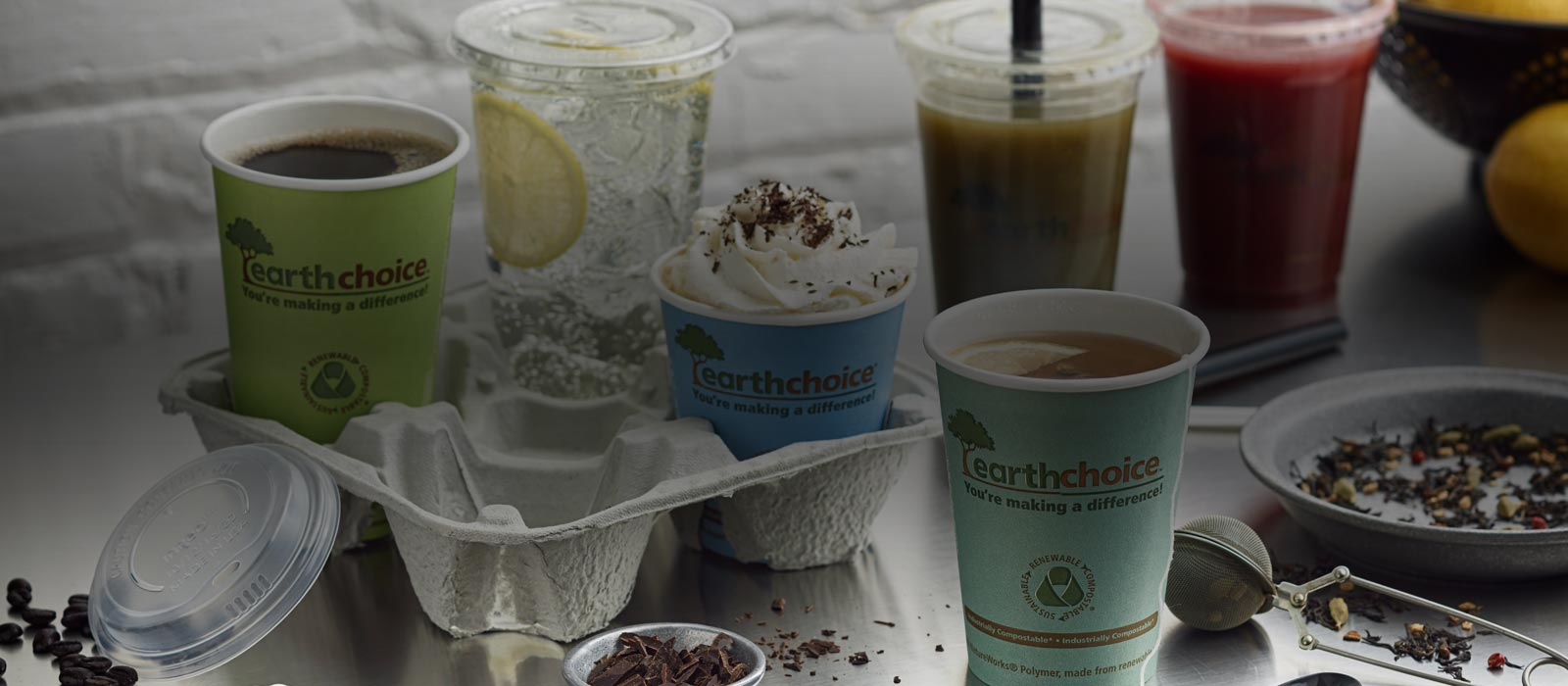 EarthChoice Hot and Cold Cups
