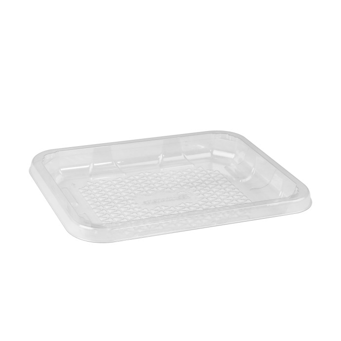 4D Clear RPET Tray, Clear, 300 Ct.