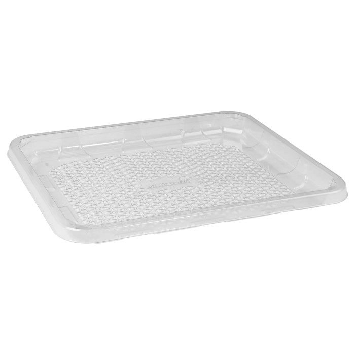9D Clear RPET Tray, Clear, 200 Ct.