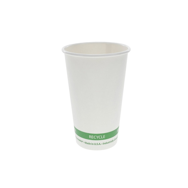 16 OZ PLA EARTHPLUS HOT CUP 20/50