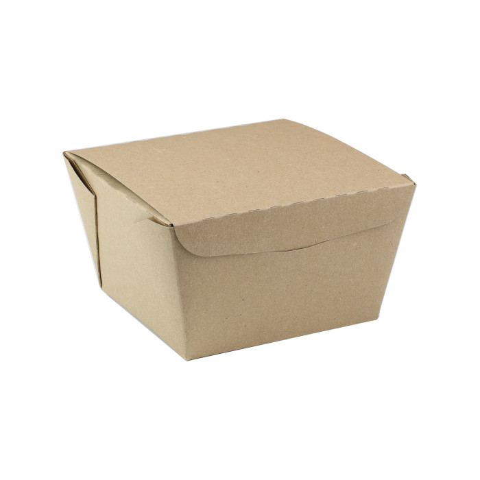 "#8, 4.5"" X 4.5"" X 3.25"",  46 oz. OneBox® Paper Kraft Box, 200 ct."