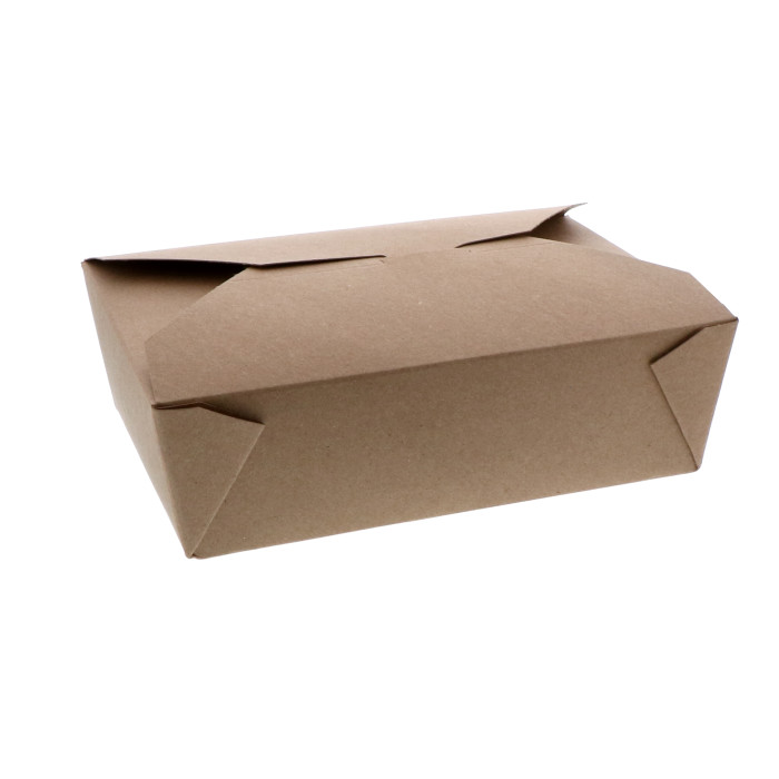 "#3, 6"" x 8"" x 2"" 100% Recycled Paper Kraft Box, 160 ct."
