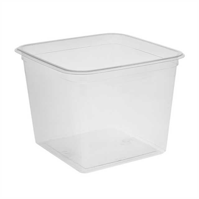 6 in Square 60oz Container