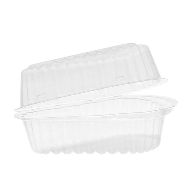 Yci890060000 6 Quot Hinged Lid Pie Wedge Container Clear