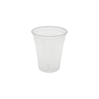 12-14 oz. Recycled Plastic Cold Cup, Clear, 540 ct.