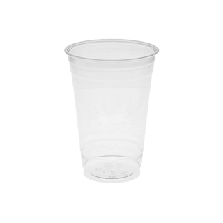 16 oz. Tall Recycled Plastic Cold Cup, Clear, 500 ct.