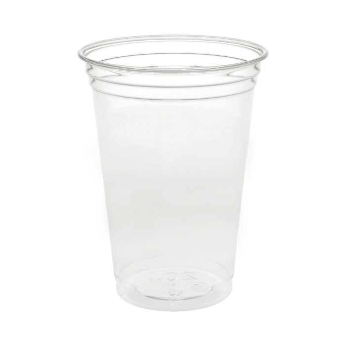 20 oz. Recycled Plastic Cold Cup, Clear, 720 ct.