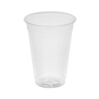 9 oz. Tall Recycled Plastic Cold Cup, Clear, 900 ct.