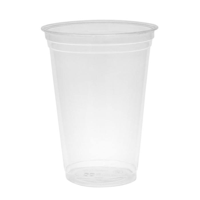 20 oz Compostable Cold Cup, Clear, 600 ct.