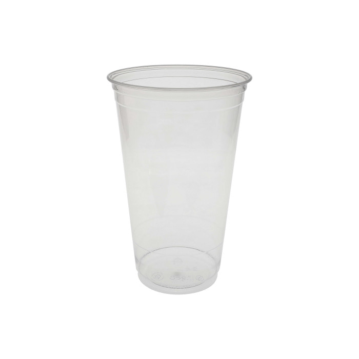 24 oz Compostable Cold Cup, Clear, 580 ct.