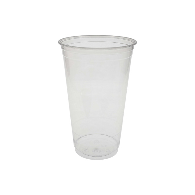 24 OZ CLEAR PLA CUP 10/58