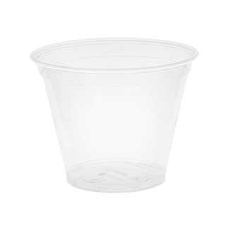 9 oz. Compostable Cold Cup, Clear, 975 ct.