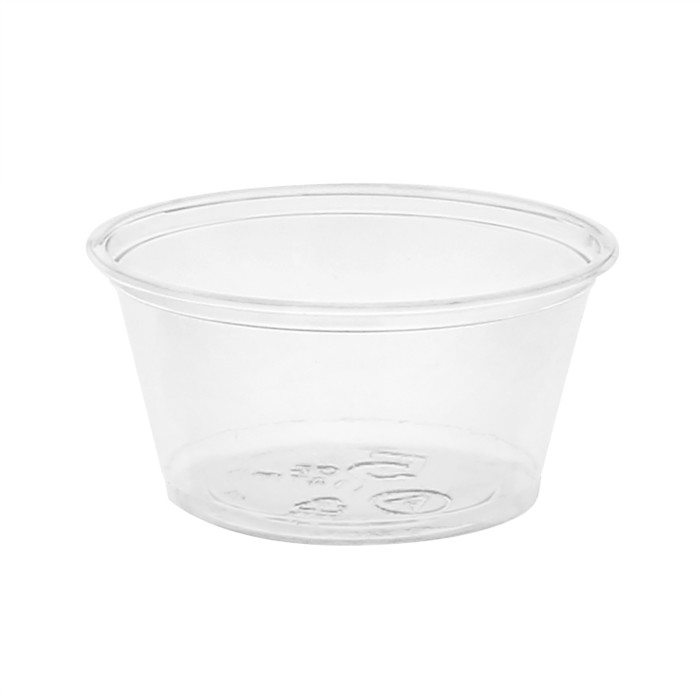 5 oz. Recycled Plastic Sundae Dish, Clear, 900ct.