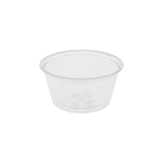 5 oz. Recycled Plastic Sundae Cup, Clear, 900 ct.