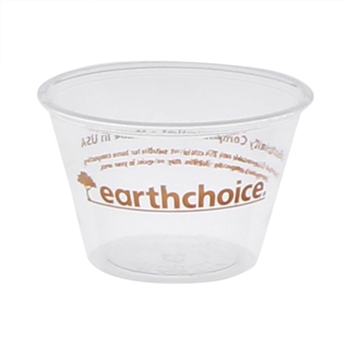 4oz PLA Clear Prntd Earthchoice Cup