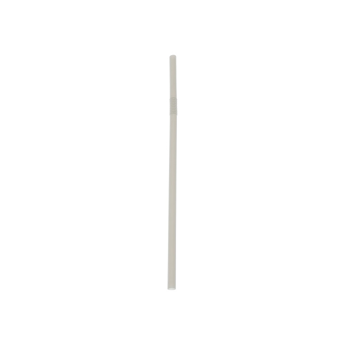 "7.75"" Giant Compostable Straw, Bulk, Natural, 3,600 ct."
