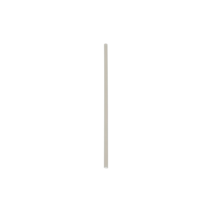 "7.75"" Jumbo Compostable Straw, Bulk Natural, 3,000 ct."