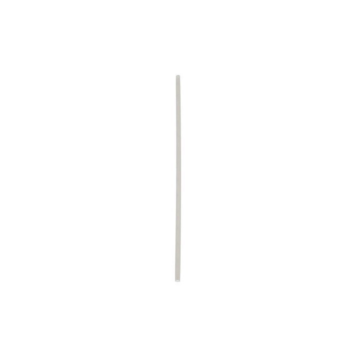 "7.75"" Compostable Cocktail Straw, Natural, 6,000 ct."